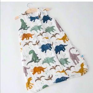 EUC Little Unicorn cotton muslin sleep bag